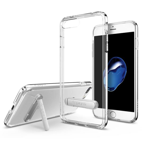 Чехол Spigen Ultra Hybrid S для iPhone 7 Plus (Айфон 7 Плюс) кристально-прозрачный (SGP-043CS20754)Чехлы для iPhone 7 Plus<br>Spigen Ultra Hybrid S — идеальный чехол для минималистов, которые ценят максимальную функциональность!<br><br>Цвет товара: Прозрачный<br>Материал: Поликарбонат, термопластичный полиуретан