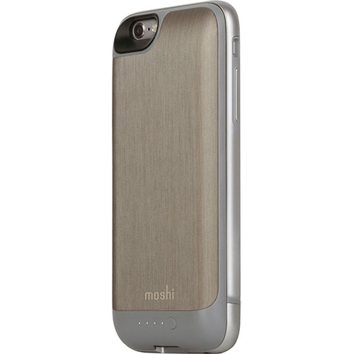 Чехол Moshi iGlaze Ion для iPhone 6/6s титановыйЧехлы для iPhone 6/6s<br>Чехол Moshi iGlaze Ion для iPhone 6/6s титановый<br><br>Цвет товара: Серый<br>Материал: Пластик, металл