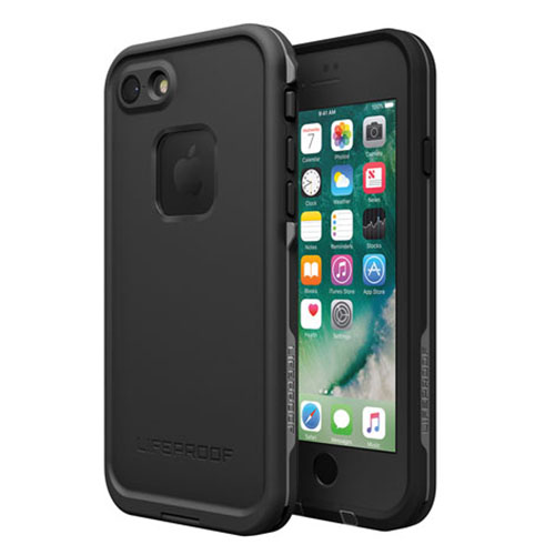 Чехол Lifeproof Fre для iPhone 7 чёрный