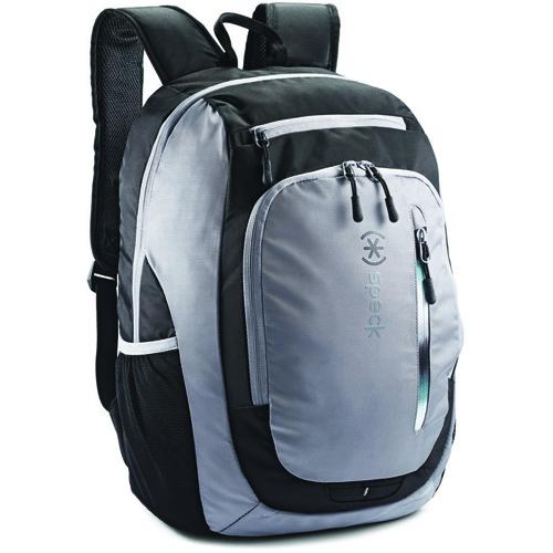 Рюкзак Speck Technical Candlepin для Macbook 15 (89102-1412) серый / чёрныйРюкзаки<br>Speck Tachnical Candlepin — идеальный рюкзак для активного образа жизни!<br><br>Цвет товара: Серый<br>Материал: Полиэстер