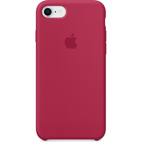 Силиконовый чехол Apple Silicone Case для iPhone 8/7 (Rose Red) красная розаЧехлы для iPhone 7<br>Силиконовые чехлы, специально созданные для нового смартфона от Apple, в точности повторяют контуры Айфон, не делая его громоздким.<br><br>Цвет товара: Красный<br>Материал: Силикон