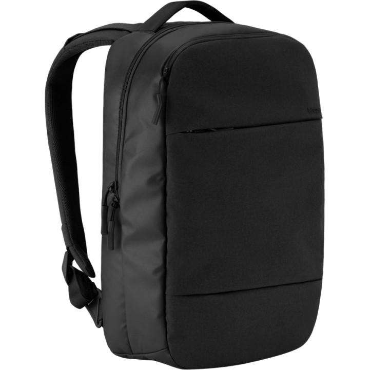 Рюкзак Incase City Collection Compact для MackBook 15 чёрныйРюкзаки<br>Этот рюкзак станет надежным и практичным спутником в ваших ежедневных путешествиях, как далеко вы бы ни отправились.<br><br>Цвет товара: Чёрный<br>Материал: Переплетение нитей полиэстера 270D и 500D