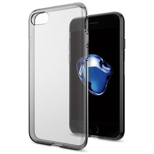 Чехол Spigen Liquid Crystal для iPhone 7 (Айфон 7) дымчато-кристальный (SGP-042CS20846)Чехлы для iPhone 7/7 Plus<br>Spigen Liquid Crystal создан для тех, кого привлекает минимализм и оригинальность форм.<br><br>Цвет товара: Серый<br>Материал: Термопластичный полиуретан TPU