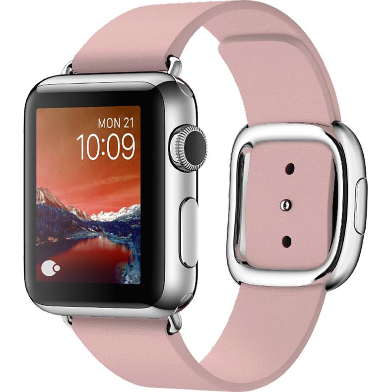 Ремешок COTEetCI Nobleman для Apple Watch 38 мм розовыйРемешки для Apple Watch<br>Ремешок способен в полной мере отразить всю вашу индивидуальность, придавая особую привлекательность вашим Apple Watch<br><br>Цвет товара: Розовый<br>Материал: Кожа