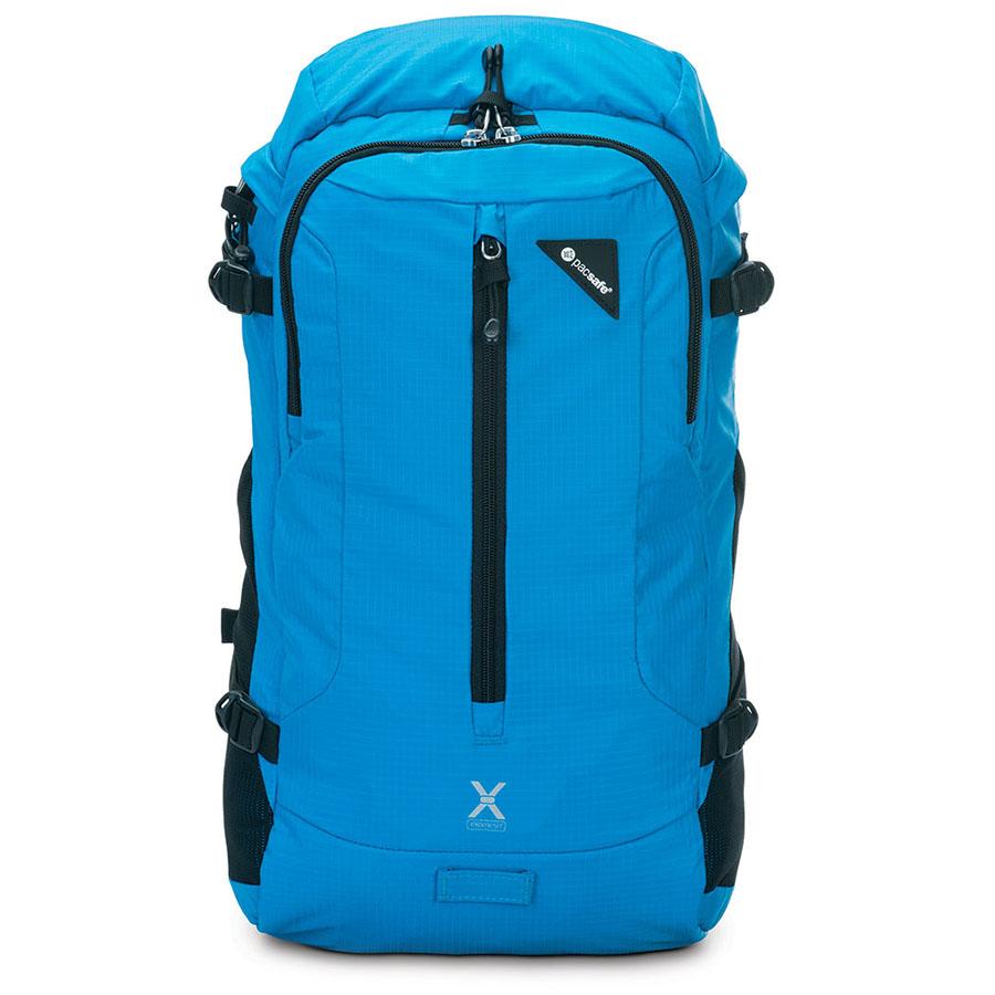 Рюкзак PacSafe Venturesafe X22 синийРюкзаки<br>Ventursafe X22 — это комфорт, невероятно долгий срок службы и классный дизайн!<br><br>Цвет товара: Синий<br>Материал: Текстиль, нержавеющая сталь, пластик
