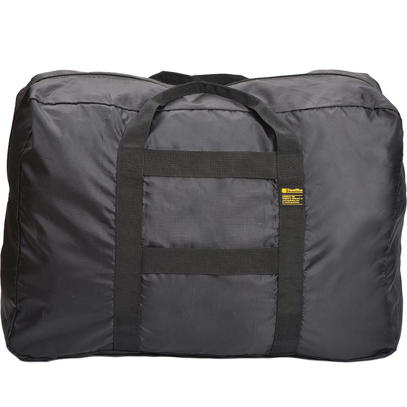 Складная сумка Travel Blue Foldable X-Large Carry Bag 48L (067bl) чёрнаяСумки и аксессуары для путешествий<br>Компактная, но очень вместительная сумка для путешествий.<br><br>Цвет: Чёрный<br>Материал: Полиэстер