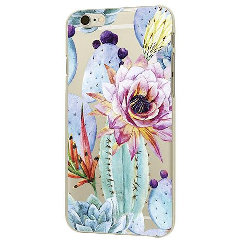 Чехол iPapai для iPhone 6/6s Флора (Цветущий кактус)Чехлы для iPhone 6/6s<br>Чехол iPapai Флора (Цветущий кактус) для iPhone 6/6s<br><br>Цвет товара: Разноцветный<br>Материал: Пластик