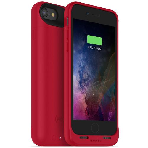 Чехол-аккумулятор Mophie Juice Pack Air на 2525 мАч для iPhone 7 красныйЧехлы для iPhone 7/7 Plus<br>Mophie Juice Pack Air — это идеальный чехол - тонкий и легкий, он обеспечит ваш новенький iPhone 7 100% защитой и энергией.<br><br>Цвет товара: Красный<br>Материал: Поликарбонат, резина