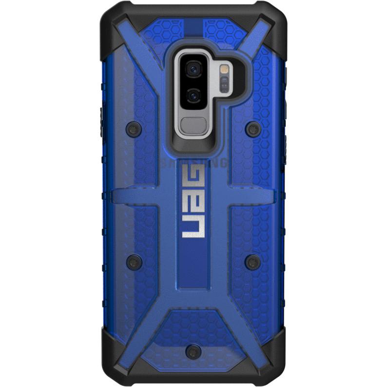Чехол UAG Plasma Series Case для Samsung Galaxy S9+ синий COBALTЧехлы для Samsung Galaxy S9/S9 Plus<br>В чехлах UAG Plasma Series вам будет доступна и беспроводная зарядка при максимальной защищённости!<br><br>Цвет: Синий<br>Материал: Поликарбонат, термопластичный полиуретан