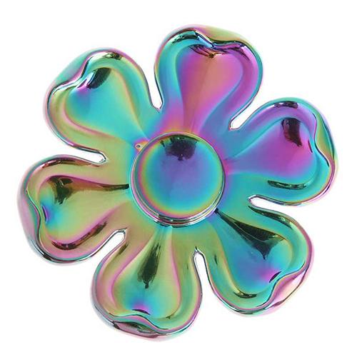 Спиннер Fidget Glory Rainbow Series Лепестки SP4565Игрушки-антистресс<br>Благодаря покрытию «хамелеон» спиннер Fidget Glory захватывает внимание с первой секунды!<br><br>Цвет товара: Разноцветный<br>Материал: Металл