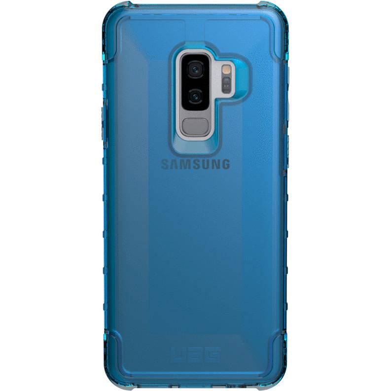 Чехол UAG PLYO Series Case для Samsung Galaxy S9+ синий GLACIERЧехлы для Samsung Galaxy S9/S9 Plus<br>UAG PLYO Series Case выполнен из высококачественного поликарбоната и убережёт ваш смартфон от самых различных повреждений<br><br>Цвет: Синий<br>Материал: Поликарбонат, термопластичный полиуретан