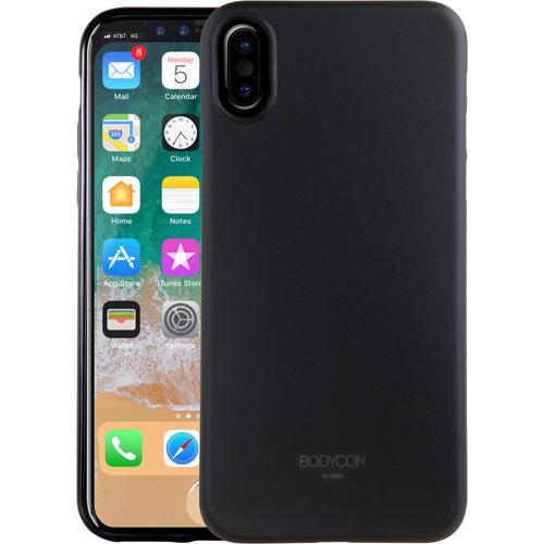 Чехол Uniq Bodycon для iPhone X чёрныйЧехлы для iPhone X<br>Тонкий словно лепесток цветка и невероятный легкий чехол Uniq Bodycon повторяет плавные контуры вашего iPhone Х, и обеспечивает непревзойденную за...<br><br>Цвет товара: Чёрный<br>Материал: Поликарбонат, полиуретан