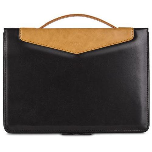 Чехол-сумка Moshi Codex 13 для MacBook Pro 13 Retina чёрный ониксСумки для ноутбуков<br><br><br>Цвет товара: Чёрный оникс<br>Материал: Эко-кожа, полиэстер