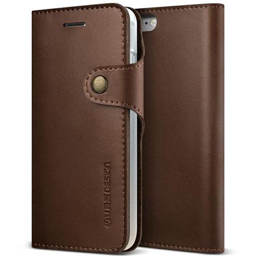 Чехол Verus Native Diary для iPhone 7 (Айфон 7) кофейно-коричневый (VRIP7-NTDBN)Чехлы для iPhone 7/7 Plus<br>Чехол-книжка Verus для iPhone 7 Native Diary, темно-коричневый (904678)<br><br>Цвет товара: Коричневый<br>Материал: Кожа, поликарбонат