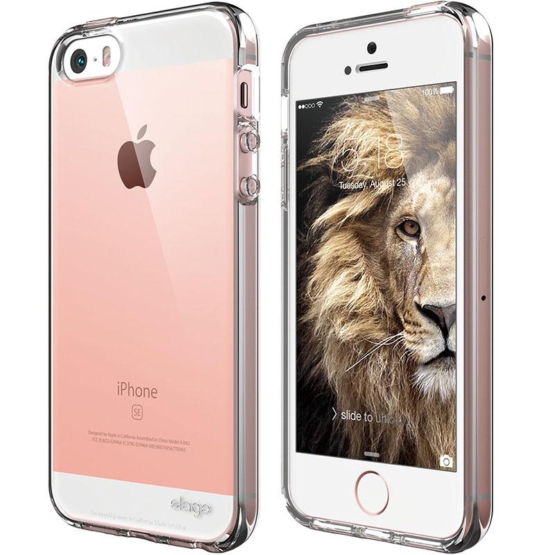 Чехол Elago Flex Hard TPU для iPhone 5S/SE прозрачныйЧехлы для iPhone 5/5S/SE<br>Elago Flex Hard TPU станет настоящим украшением вашего iPhone!<br><br>Цвет: Прозрачный<br>Материал: Полиуретан