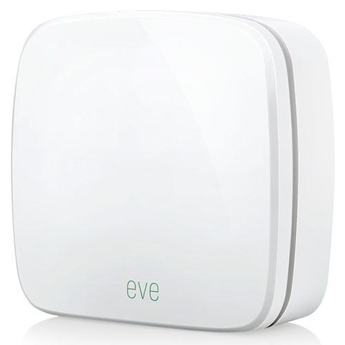 Датчик качества и состава воздуха Elgato Eve RoomКлиматическая техника для дома<br>Метеостанция внутреняя Elgato Eve Room белого цвета<br><br>Цвет товара: Белый<br>Материал: Пластик