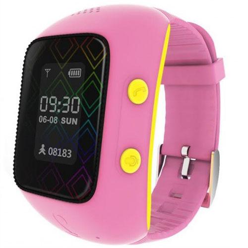 Детские умные часы MyRope R12 розовыeУмные часы<br>Детские умные часы MyRope R12 розовыe<br><br>Цвет товара: Розовый<br>Материал: Пластик, резина