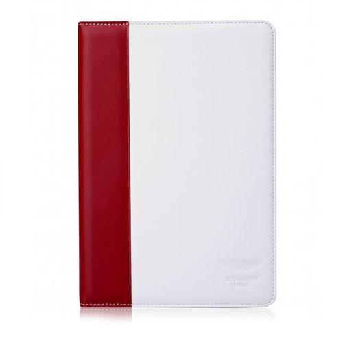 Чехол Aston Martin Racing Folio Case для iPad Air красный/белыйЧехлы для iPad Air<br>Aston Martin Racing Folio Case - чехол премиум-класса из высококачественной натуральной кожи.<br><br>Цвет товара: Белый<br>Материал: Натуральная кожа, поликарбонат