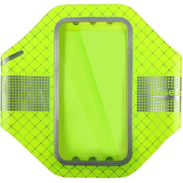 Чехол Baseus Ultra-thin Sports Armband для смартфонов 5.5 зелёныйЧехлы для Nokia Lumia<br>С Baseus Ultra-thin Sports Armband вы можете не беспокоиться за свой смартфон!<br><br>Цвет товара: Зелёный<br>Материал: Водостойкий неопрен, полиуретан