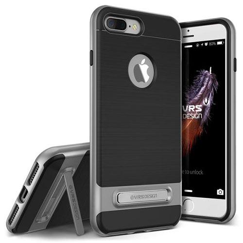 Чехол Verus High Pro Shield для iPhone 7 Plus (Айфон 7 Плюс) стальной (VRIP7P-HPSDS)Чехлы для iPhone 7 Plus<br>Чехол Verus для iPhone 7 Plus High Pro Shield, стальной (904638)<br><br>Цвет товара: Серый<br>Материал: Полкикарбонат, полиуретан