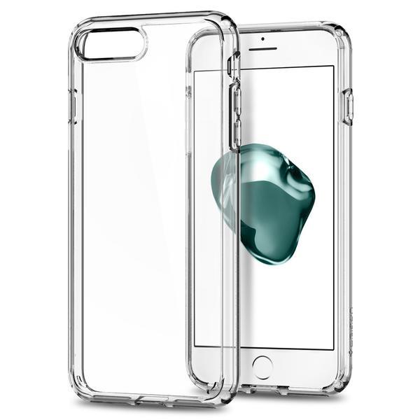 Чехол Spigen Ultra Hybrid 2 для iPhone 7 Plus (Айфон 7 Плюс) кристально-прозрачный (SGP-043CS21052)Чехлы для iPhone 7 Plus<br>Ultra Hybrid 2 - идеальный чехол тех, кто ценит максимальную функциональность!<br><br>Цвет товара: Прозрачный<br>Материал: Термопластичный полиуретан, поликарбонат