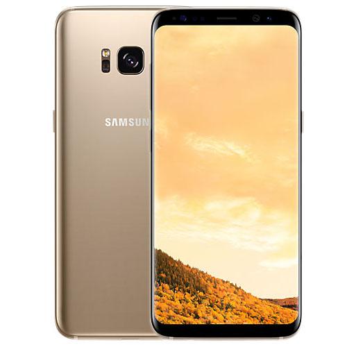 Samsung Galaxy S8 64 Гб жёлтый топазSamsung Galaxy S8 и S8+<br>Samsung Galaxy S8 — смартфон с безграничными  возможностями!<br><br>Цвет товара: Золотой<br>Материал: Металл, стекло<br>Модификация: 64 Гб