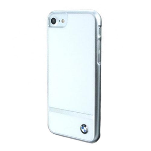Чехол BMW Signature Aluminium Stripe Hard PC + Alumin для iPhone 7 (Айфон 7) белыйЧехлы для iPhone 7<br>Чехол BMW для iPhone 7 Signature Aluminium stripe Hard PC+alumin White<br><br>Цвет товара: Белый<br>Материал: Полкикарбонат, алюминий