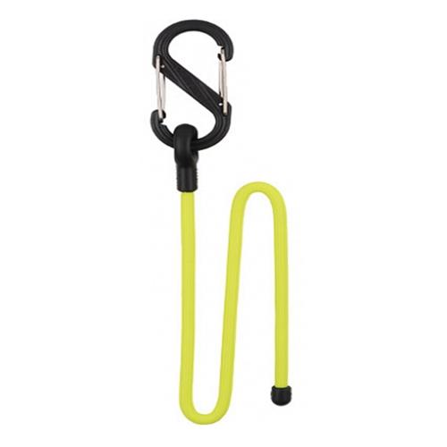 Организатор проводов NiteIze Gear Tie Clippable Twist Tie 12 с карабином жёлтыйОрганайзеры проводов и гаджетов<br>Гибкие стяжки Nitelze Gear Tie Clippable Twist Tie, 12 желт<br><br>Цвет товара: Жёлтый<br>Материал: Металл, резина