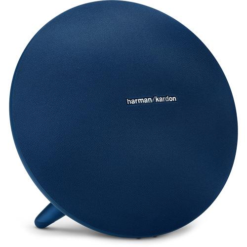 Акустическая система Harman Kardon Onyx Studio 4 синяяКолонки и акустика<br>Harman Kardon Onyx Studio — это идеальный баланс, отличный звук, привлекательный дизайн и высококачественные материалы.<br><br>Цвет товара: Синий<br>Материал: Металл, пластик, текстиль