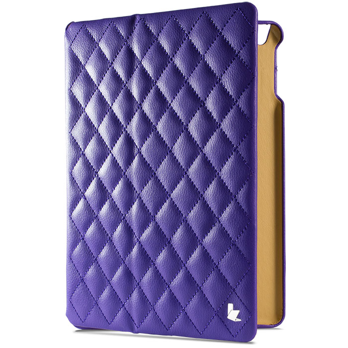 Чехол Jison Matelasse Case для iPad Air фиолетовыйЧехлы для iPad Air<br>Чехол Jison Matelasse Case - это чистые линии и высокая функциональность, простота и технологичность, элегантность и универсальный дизайн.<br><br>Цвет товара: Фиолетовый<br>Материал: Натуральная кожа, поликарбонат