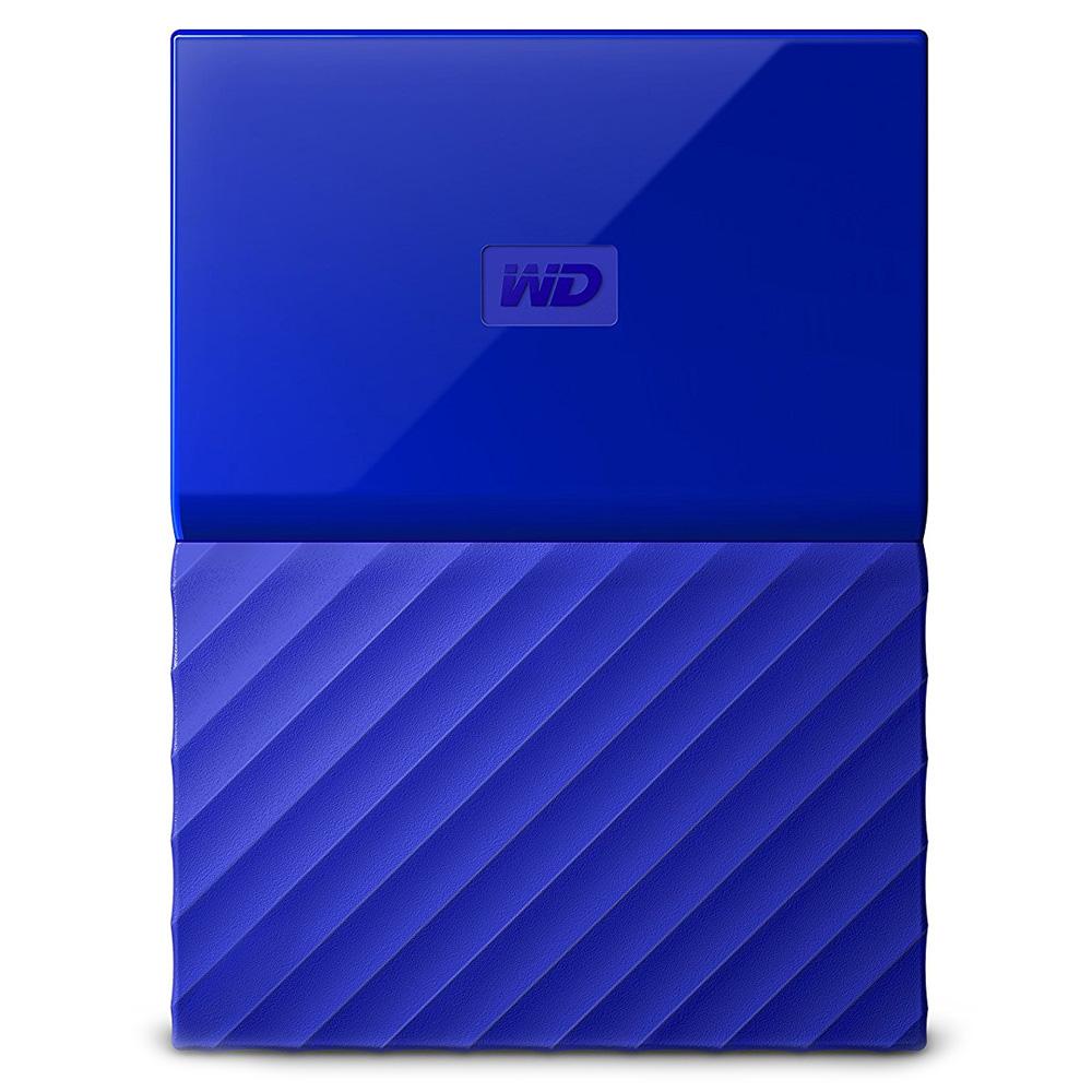 Внешний жесткий диск Western Digital My Passport New 2017 1Тб синий