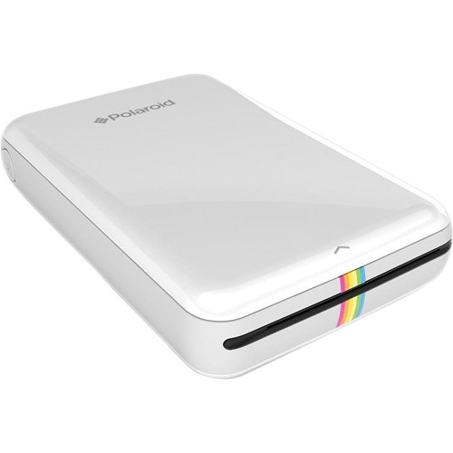 Портативный принтер Polaroid ZIP Mobile Printer белыйПортативные принтеры<br>Polaroid ZIP — это портативный принтер для быстрой печати фотографий со смартфона или планшета на базе iOS или Android.<br><br>Цвет товара: Белый<br>Материал: Пластик