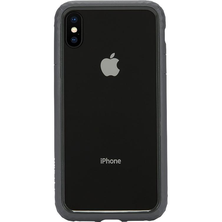 Чехол Incase Frame Case для iPhone X тёмно-серыйЧехлы для iPhone X<br>Прочный текстурный чехол-бампер с амортизирующими свойствами Incase Frame Case отлично защищает ваш смартфон как от мелких царапин и сколов, так и...<br><br>Цвет товара: Серый<br>Материал: Термопластичный полиуретан, поликарбонат