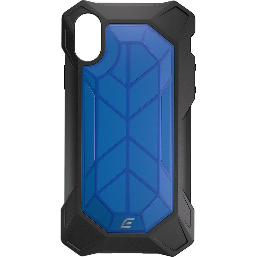 Чехол Element Case Rev для iPhone X синийЧехлы для iPhone X<br>Element Case идут рука об руку со всеми новыми iPhone, создавая им самую лучшую защиту из всех возможных.<br><br>Цвет товара: Синий<br>Материал: Поликарбонат (PC), термопластичный полиуретан (TPU)