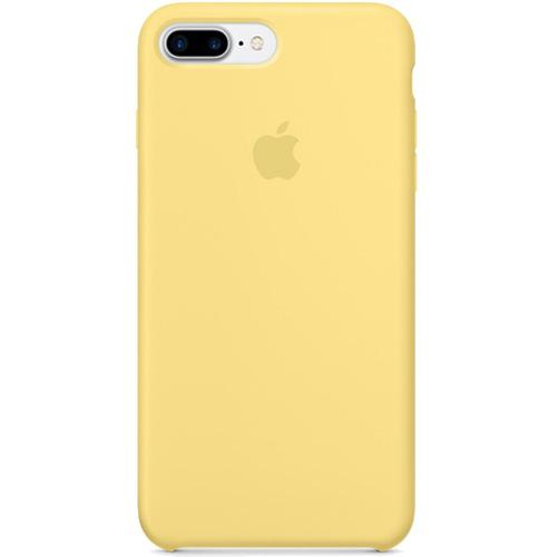 Силиконовый чехол Apple Silicone Case для iPhone 7 Plus (Pollen) жёлтая пыльцаЧехлы для iPhone 7 Plus<br>Ни один чехол в мире не сочетается с мощным Айфон 7 Плюс лучше, чем оригинальный Apple Silicone Case.<br><br>Цвет товара: Жёлтый<br>Материал: Силикон