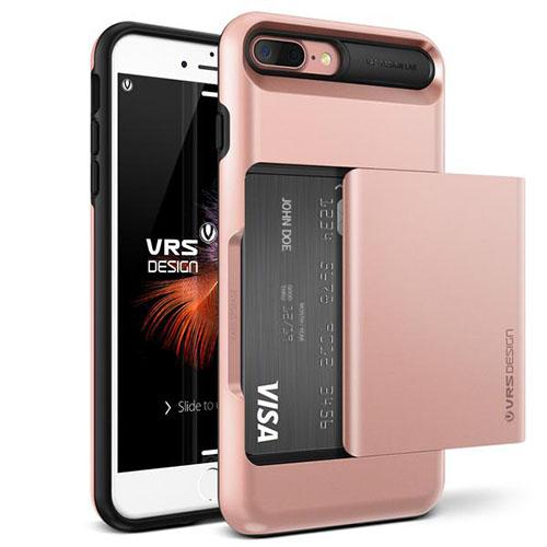 Чехол Verus Damda Glide для iPhone 7 Plus (Айфон 7 Плюс) розовое золото (VRIP7P-DGLRG)Чехлы для iPhone 7 Plus<br>Чехол Verus для iPhone 7 Plus Damda Glide, розовое золото (904644)<br><br>Цвет товара: Розовое золото<br>Материал: Поликарбонат, полиуретан