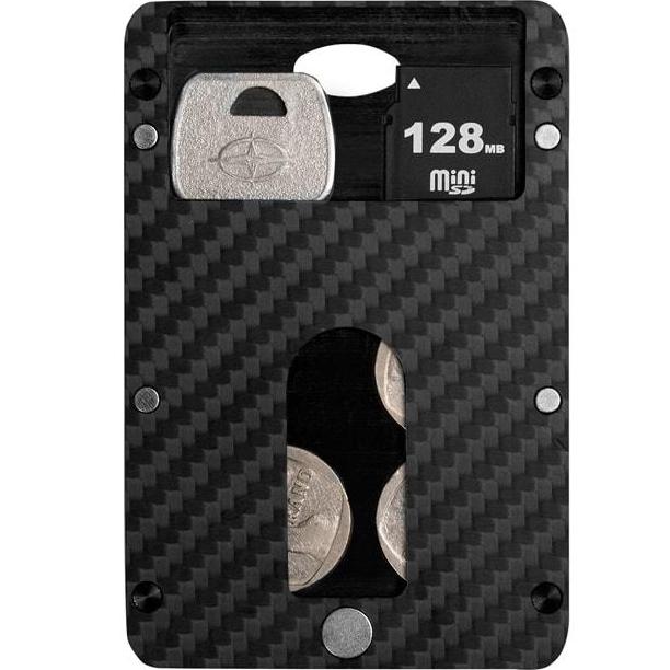Дополнительный модуль Box Layer для магнитного кошелька Pitaka MagWallet CarbonКошельки и портмоне<br>Дополнительный модуль для Pitaka MagWallet Carbon, в котором вы сможете хранить различные мелочи.<br><br>Цвет товара: Чёрный<br>Материал: Карбон, углеволокно
