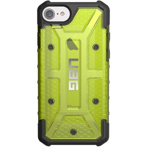 Чехол UAG Plazma Series Case для iPhone 6/6s/7 зелёный CitronЧехлы для iPhone 7<br>Чехлы от компании Urban Armor Gear разработаны и спроектированы таким образом, чтобы обеспечить максимальную защиту вашему смартфону, при этом со...<br><br>Цвет товара: Зелёный<br>Материал: Пластик