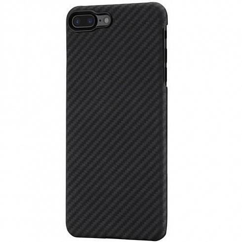 Чехол PITAKA MagCase для iPhone 7/8 Plus чёрный карбонЧехлы для iPhone 7 Plus<br>PITAKA MagCase — воплощение стильного дизайна, феноменальной прочности и впечатляющей функциональности.<br><br>Цвет товара: Чёрный<br>Материал: Арамид<br>Модификация: iPhone 5.5