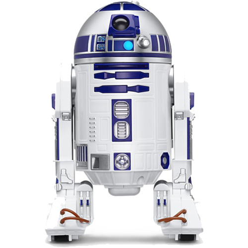 Робот Sphero StarWars R2-D2 DroidРоботы<br>Sphero Orbotix R2-D2 StarWars Droid — это миниатюрная версия самого знаменитого дроида легендарной звездной саги — фильма «Звёздные Войны».<br><br>Цвет товара: Белый<br>Материал: Поликарбонат<br>Модификация: R2-D2