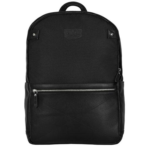 Рюкзак Ray Button Chester для MacBook 15 чёрныйРюкзаки<br>Выделиться из толпы и подчеркнуть хороший вкус поможет стильный городской аксессуар – рюкзак из натуральной кожи RayButton.<br><br>Цвет товара: Чёрный<br>Материал: Натуральная кожа, нейлон