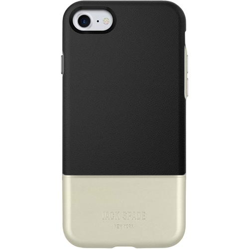 Чехол Jack Spade Color-Block Case для iPhone 7 чёрный/металликЧехлы для iPhone 7<br>Jack Spade Color-BlockCase — надёжный и стильный чехол для вашего iPhone, изготовленный из материалов высшего качества.<br><br>Цвет товара: Чёрный<br>Материал: Поликарбонат, экокожа