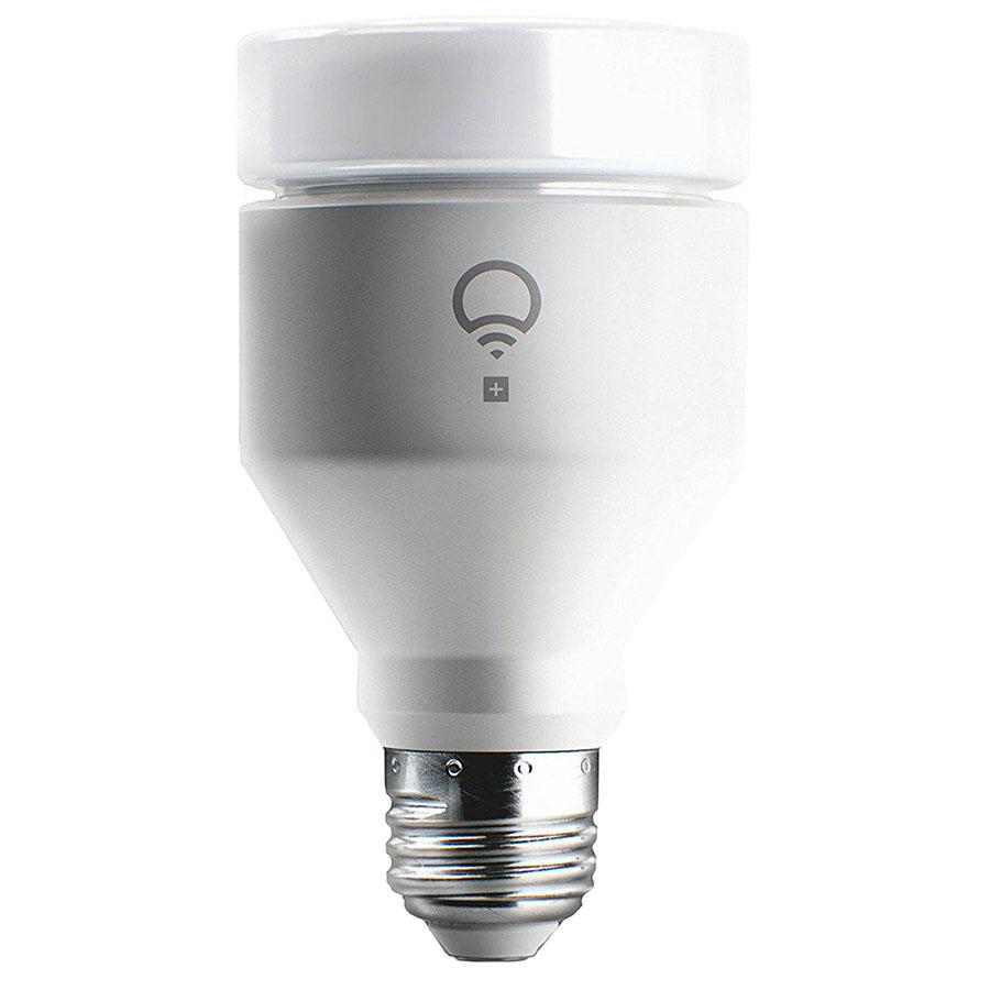 Умная лампа LIFX + (A60) E27 для iOS и AndroidУмные лампы<br>LIFX + (A60) - потрясающее дизайнерское решение для любого дома!<br><br>Цвет: Белый<br>Материал: Керамика, металл