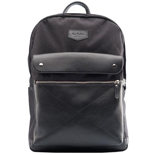 Рюкзак Ray Button Bergen для MacBook 15 чёрныйРюкзаки<br>Даже при активном ношении Ray Button Bergen сохранит свой первозданный вид.<br><br>Цвет товара: Чёрный<br>Материал: Натуральная кожа, нейлон