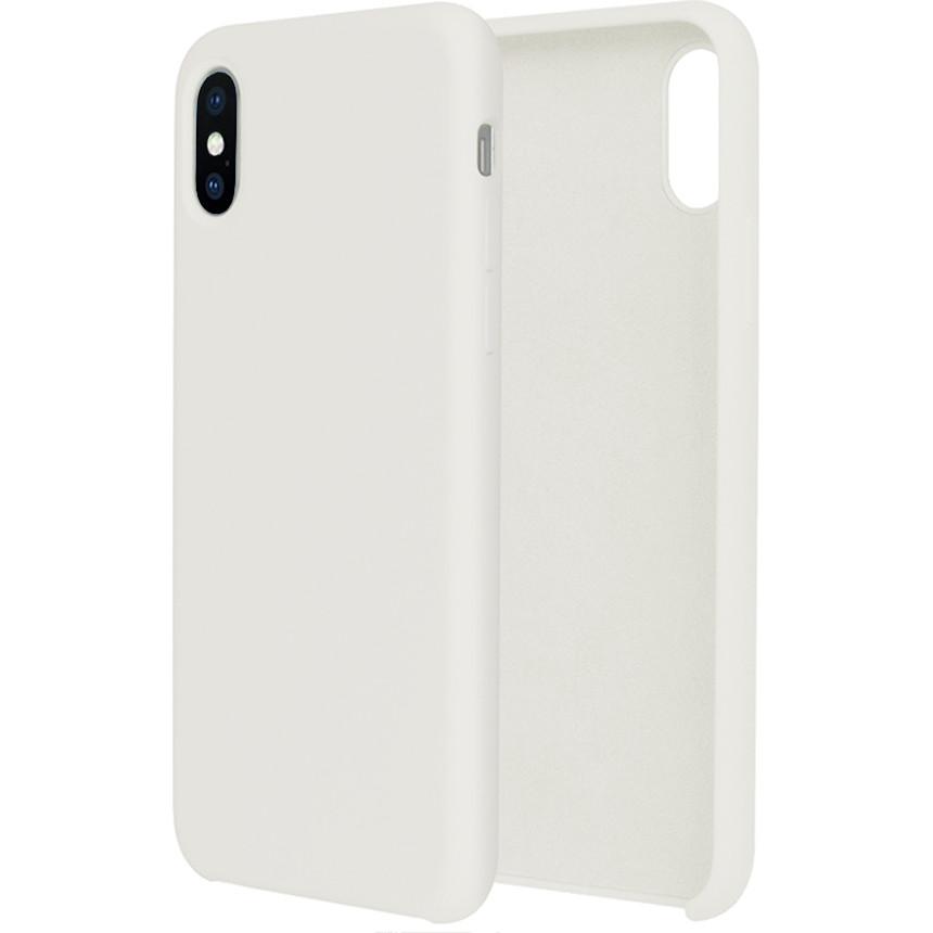 Силиконовый чехол G-CASE Original Flexible Silicone Gel Case для iPhone X белыйЧехлы для iPhone X<br>Чехол из гелеобразного силикона с мягкой подкладой из микрофибры. Он гибкий и лёгкий, идеально облегающий корпус мощного смартфона iPhone X.<br><br>Цвет товара: Белый<br>Материал: Гелеобразный гиппоаллергенный силикон, микрофибра