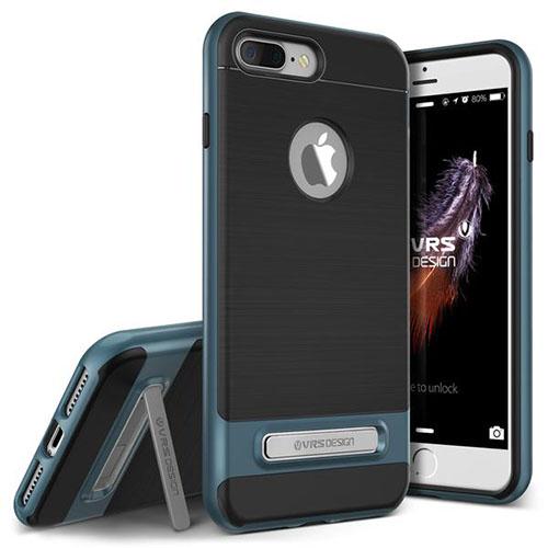 Чехол Verus High Pro Shield для iPhone 7 Plus (Айфон 7 Плюс) синий (VRIP7P-HPSBB)Чехлы для iPhone 7 Plus<br>Чехол Verus для iPhone 7 Plus High Pro Shield, стальной голубой (904640)<br><br>Цвет товара: Синий<br>Материал: Полкикарбонат, полиуретан