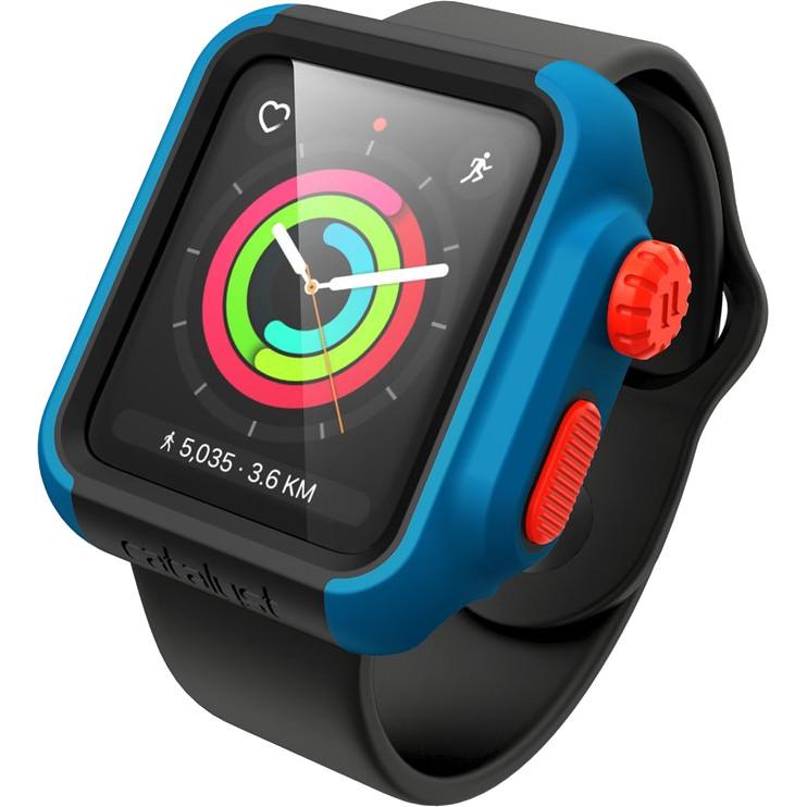 Чехол Catalyst Impact Protection Case для Apple Watch S2/S3 42mm голубой (Blueridge/Sunset)Чехлы Apple Watch<br>Чехол от Catalyst Waterproof вобрал в себя лучшие современные материалы, высокие стандарты защиты и эргономичный обтекаемый дизайн.<br><br>Цвет: Голубой<br>Материал: Пластик, силикон<br>Модификация: 42 мм