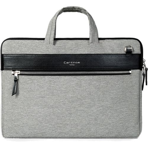Сумка Cartinoe Tommy Series для MacBook 13 сераяЧехлы для MacBook Air 13<br>Cartinoe Tommy Series — стильная и удобная сумка для ноутбуков с диагональю до 13 дюймов.<br><br>Цвет товара: Серый<br>Материал: Нейлон, полиуретан