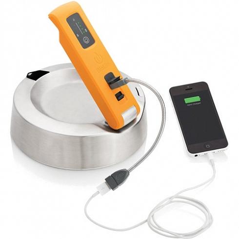 Чайник-зарядное устройство BioLite KettleChargeКотелки, грили, чайники<br>Чайник-зарядное устройство BioLite KettleCharge<br><br>Цвет товара: Белый<br>Материал: Металл, пластик