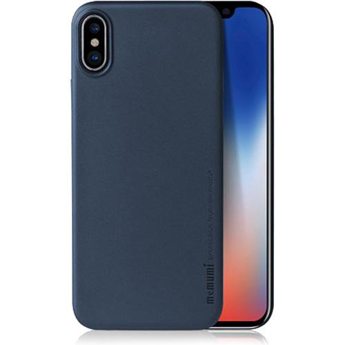 Чехол Memumi Ultra Slim 0.3 для iPhone X синийЧехлы для iPhone X<br>Memumi Ultra Slim 0.3 — один из самых тонких, надёжных и привлекательных чехлов для вашего любимого смартфона!<br><br>Цвет: Синий<br>Материал: Пластик